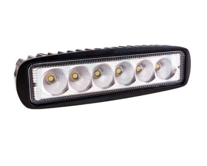 Lampa Robocza panel prostokątna 6 LED 1250 Lm światło skupione