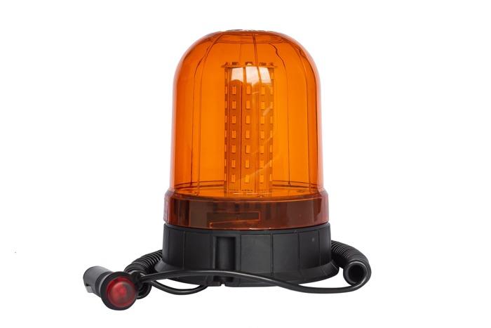 Lampa błyskowa ostrzegawcza SMD LED kogut na magnes 93L